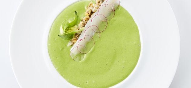 Schelvis Met Mosselen En Crème Van Sla recept | Smulweb.nl