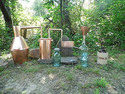 3 GAL. COPPER WHISKEY STILL / MOONSHINE STILL DISTILLERY MADE BY ALPHAMOONSHINER