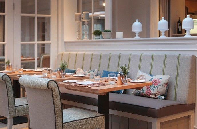Sims Hilditch Interior Design - Calcot Manor Restaurant