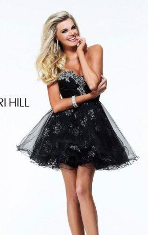 58 besten Glamorous Sherri Hill dresses Bilder auf Pinterest | Lange ...