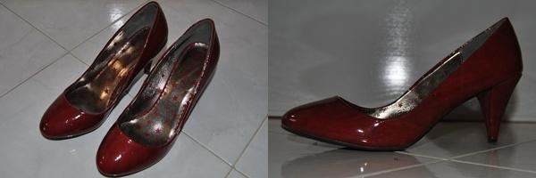 Scarpe in vernice rosse  marca NenaPunk  tg 39  €30,00
