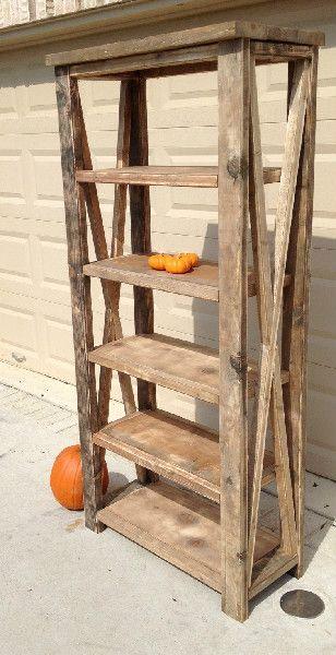 Found someone to make my bookshelf! Rustic Wood Furniture