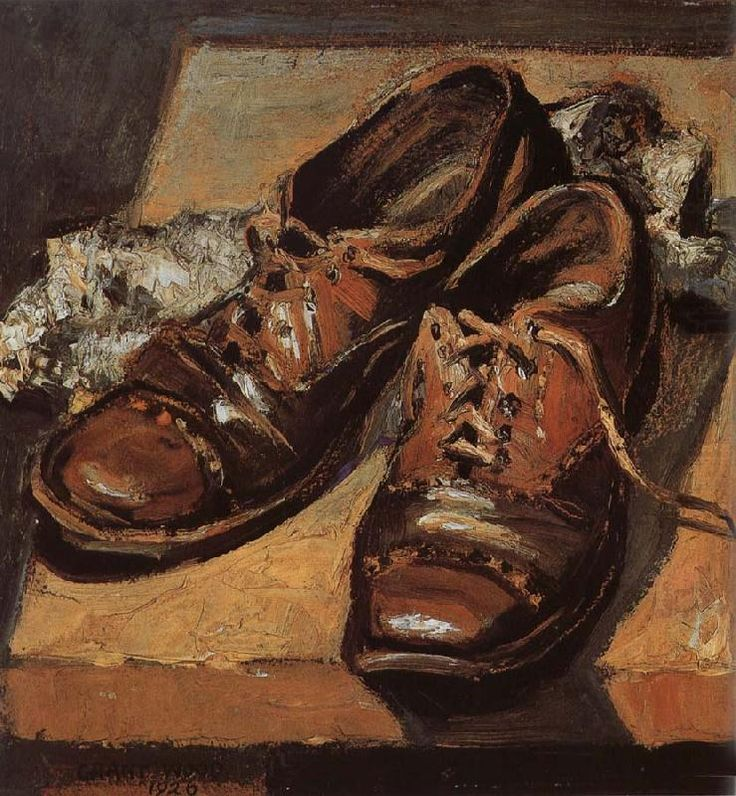 Old Shoes, 1926, Grant Wood