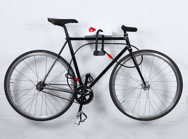 Elegant Ledge Cycle Stands - The MAMA Bike Rack Shelves Your Bicycle for Safe Storage (GALLERY)