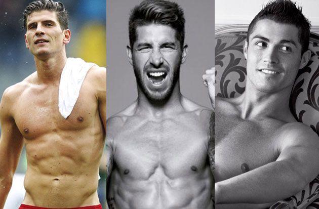los mas guapos del mundial brasil 2014. MOST HANDSOME.