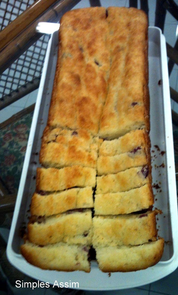 Bolo de Pão de queijo - Uma delícia Simples Assim - sem gluten