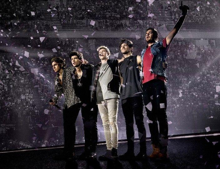 """""""Where we are – Live from San Siro Stadium"""", il concerto dei One Direction, sarà disponibile in eslusiva su TIMvision."""