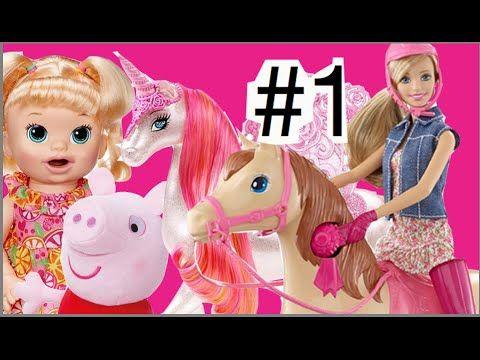 #1 Barbie Family Boneca Cavalo Unicórnio Baby Alive Peppa Pig Homem Aran... #homemaranha #aranha #spider #spiderman #eterparker #avengers #vingadores #toys #toys #おもちゃ #barbie #dolls #doll #kids #kids  #puppet #babyalive #lego #imaginext #marvel #DC #Comics #escola #school #educação #education #kid #kids #lol