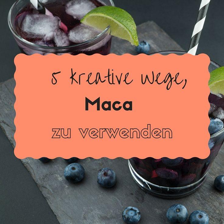 Du weißt nicht, wie du dein Maca Pulver verwenden sollst? Hier erfährst du 5 kreative Wege und Rezepte, für die du Maca-Pulver benutzen kannst.