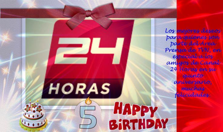 5 de marzo 5to aniversario de canal 24 horas