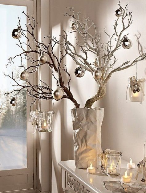 Decoração de mesa de Natal inspiradoras ~ Decoração e Ideias - casa e jardim