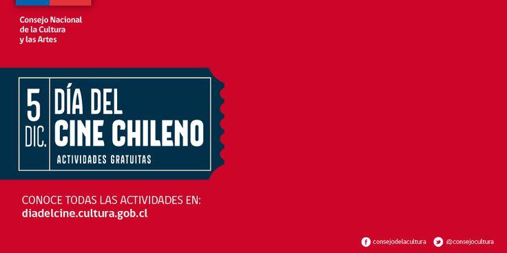 Celebración del Día del Cine Chileno. Lúcida Mag medio asociado.