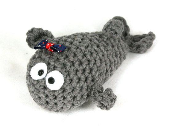 Fish crochet amigurumiCrochet Animal Crochet whale by SoutacheOOAK