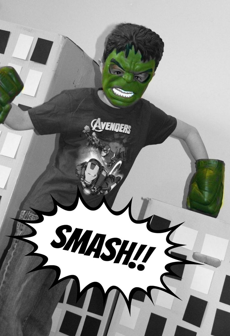 Just Another Day in Paradise: HULK Smash: Avengers Birthday Party