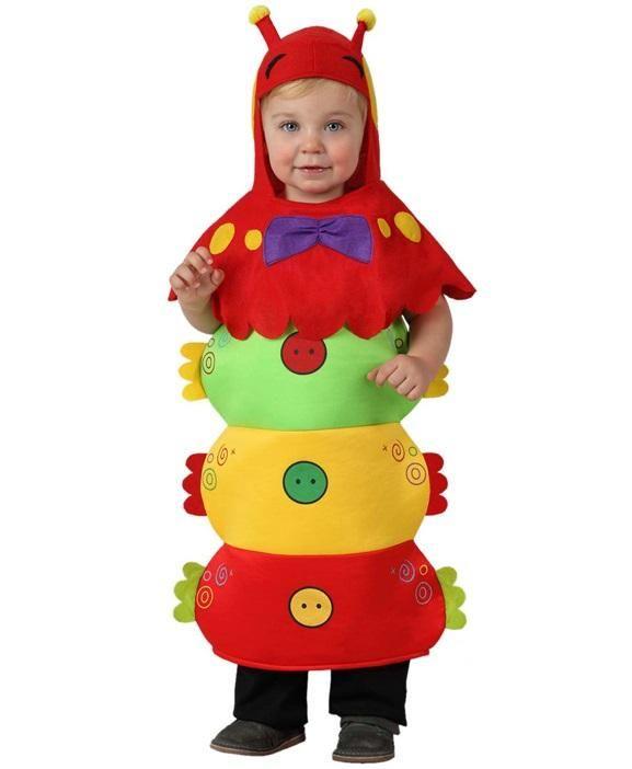 Disfraz Gusano infantil
