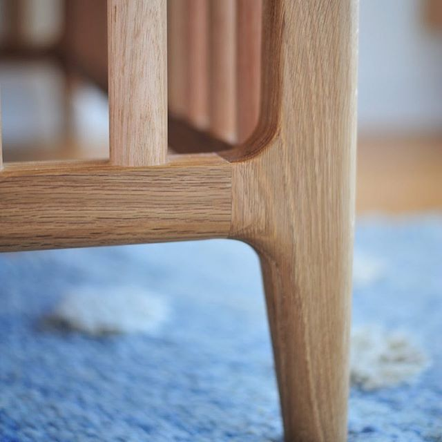 Leg detail on Raph's Cot. More info on my website.