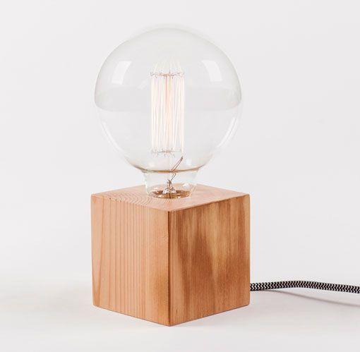 lámparas de mesa hechas a mano, modelo Filomena