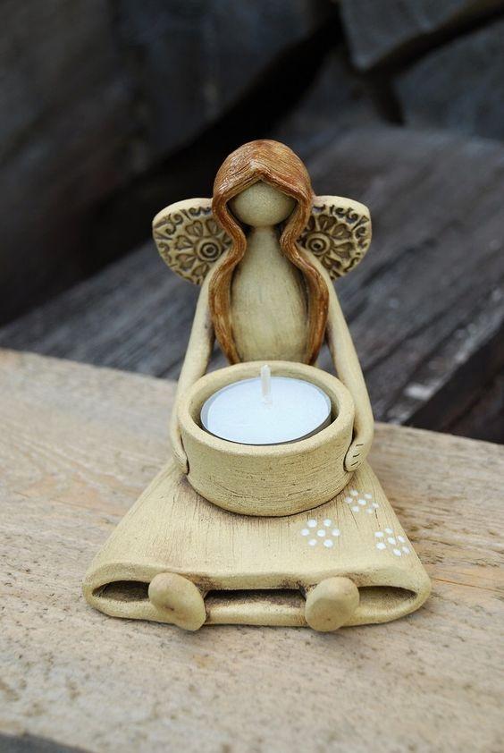 Resultado de imagen para keramický anděl