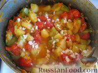 Рецепт: Овощное рагу вегетарианское на RussianFood.com