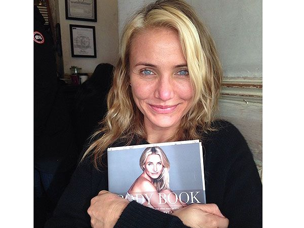 Another reason to love Cameron Diaz. Her new book! No quick fixes here girls, just hard work!