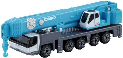 Takara Tomy Tomica Series No.133 Kobelco All Terrain Crane KMG 5220 Japan #TAKARATOMY