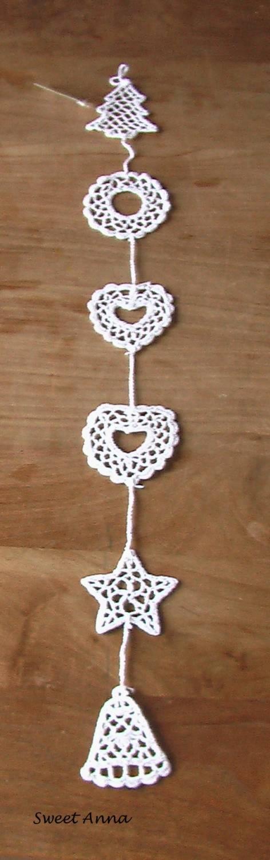 christmas garland crochet crafts