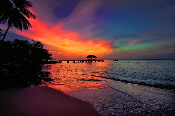 Pigeon Point, Tobago, The Caribbean