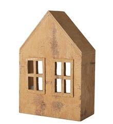 Cinnamon house, 2 windows    Størrelse: 11x16 cm www.houseofbk.com