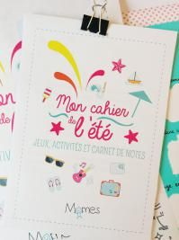 cahier vacances enfant à imprimer