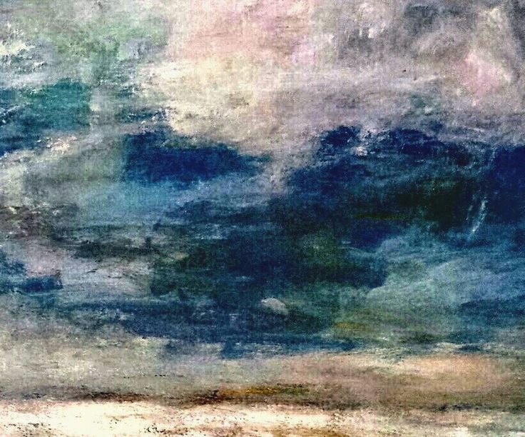 studio di nuvole..olio su tela