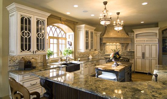 The kitchen that i want my dream board pinterest the for Elegant kitchen counter decor