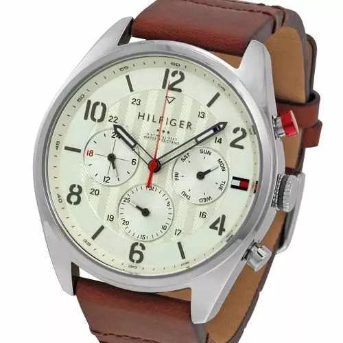 reloj tommy hilfiger 1791208 multifuncion carcasa acero