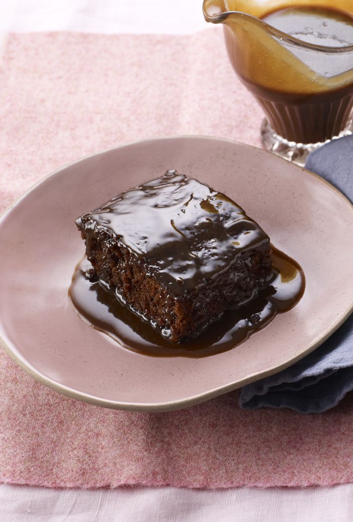 The pub classic is coming home - sticky toffee pudding, cream optional, a la Mary Berry.