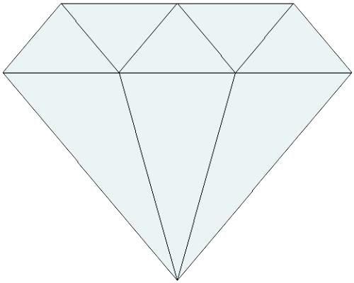 graphic relating to Diamond Template Printable identified as Diamond Template Printable Diamond Template Printable Condition
