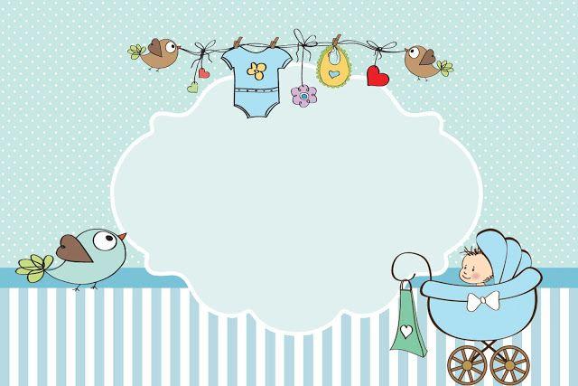 Fazendo a Minha Festa!: Kit Chá de bebê ou Chá de Fraldas Menino!