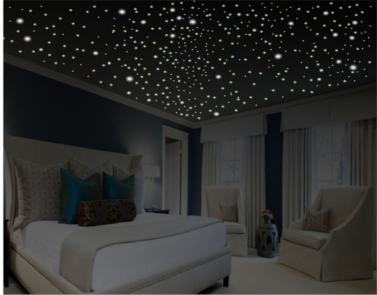 Glow in the Dark Stars / Romantic Bedroom Decor / Romantic Gift /Stars for Ceiling / Anniversary Gift / Ceiling Stars / Romantic Wall Decal by WallCrafters on Etsy https://www.etsy.com/listing/250322446/glow-in-the-dark-stars-romantic-bedroom