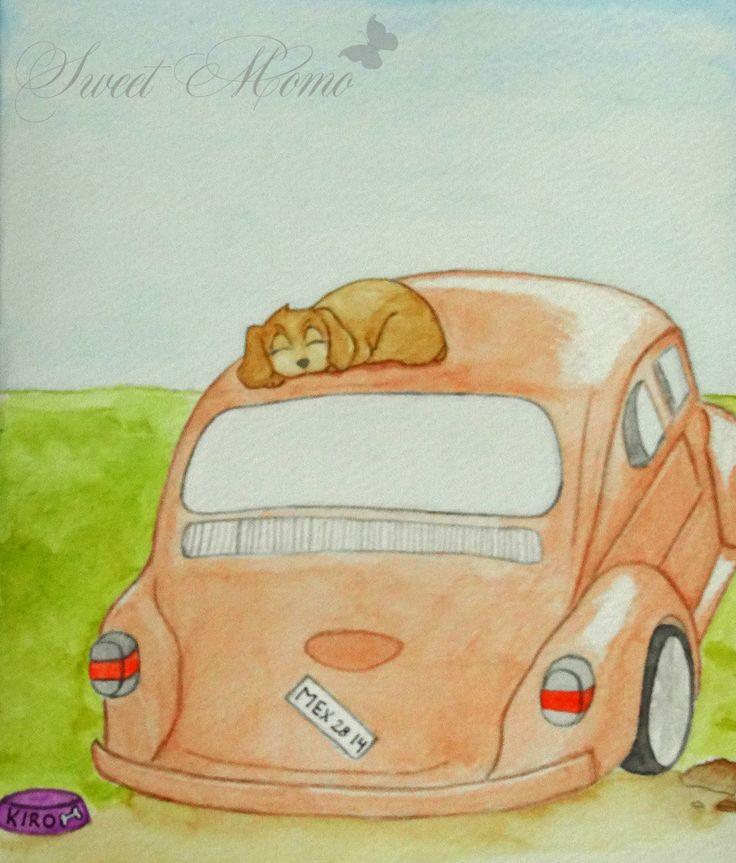 Ilustración de un animalito para el Desván del Arte