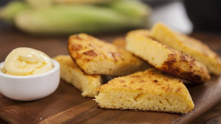 Cornbread in a Pan Recipe from Everyday Gourmet with Justine Schofield