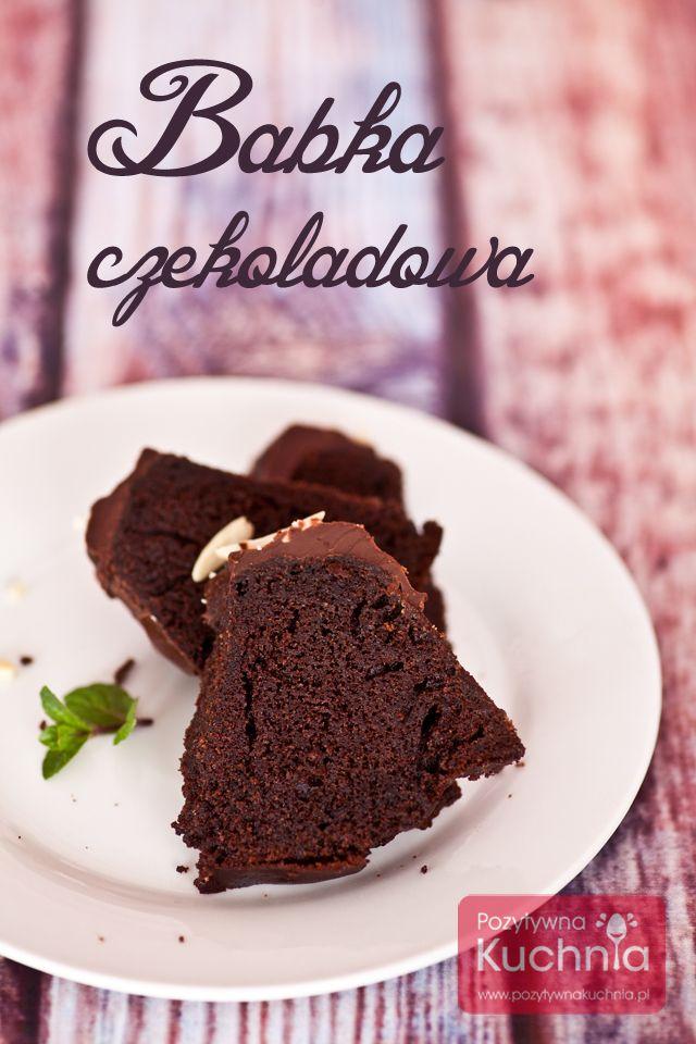 Babka czekoladowa - #przepis na pyszne ciasto czekoladowe na #wielkanoc  http://dorota.in/babka-czekoladowa/  #kuchnia #ciasto