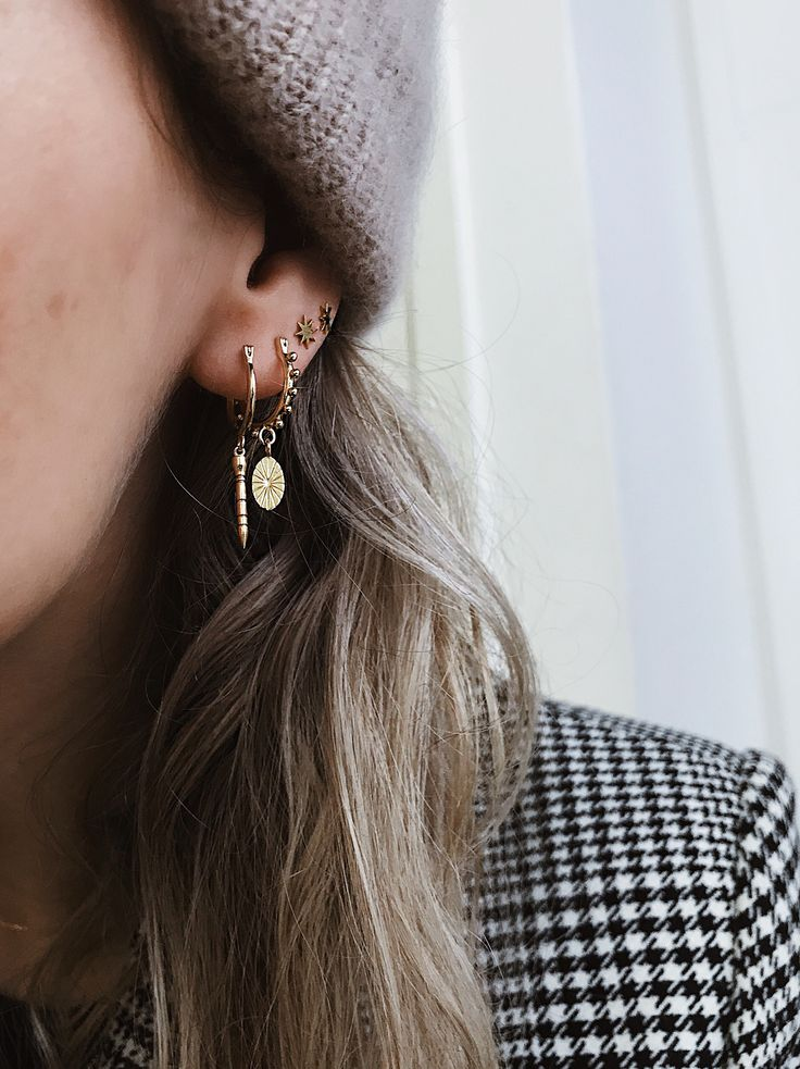 Overload Studios – The Rocket Booster, Coin & Star earrings