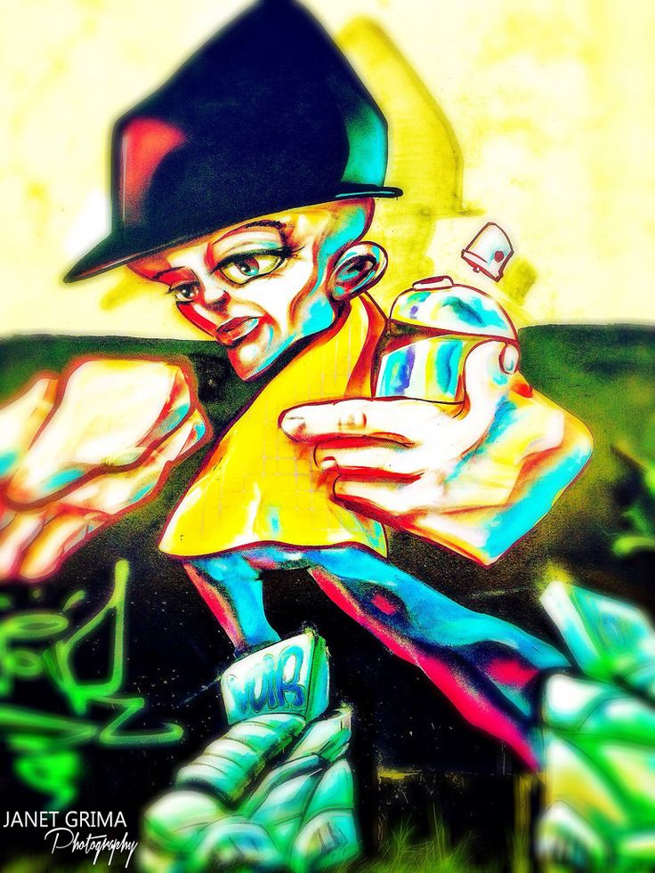 Graffiti Dude | by Janet Grima Photography