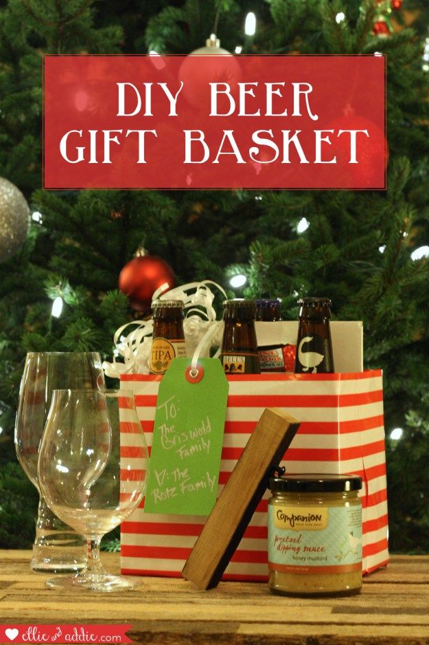 1000 Ideas About Beer Gift Baskets On Pinterest Beer