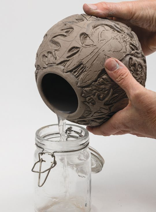 Relief carving techniques for expressive functional pottery