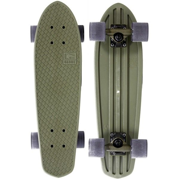 """Globe Bantam 24"""" Plastic Skateboard Complete (£55) ❤ liked on Polyvore featuring fillers, skateboards, accessories, skate and extra"""