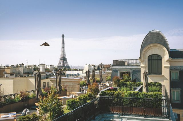 4 restaurants avec terrasse à Paris