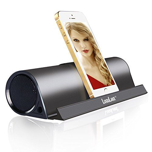 lugulake portable bluetooth speaker with stand function wireless stereo speaker built in. Black Bedroom Furniture Sets. Home Design Ideas
