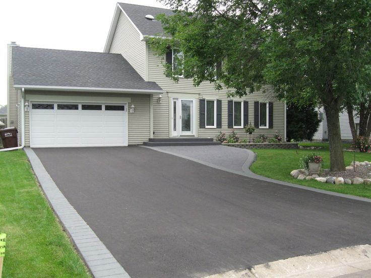 blacktop driveway design - Google Search