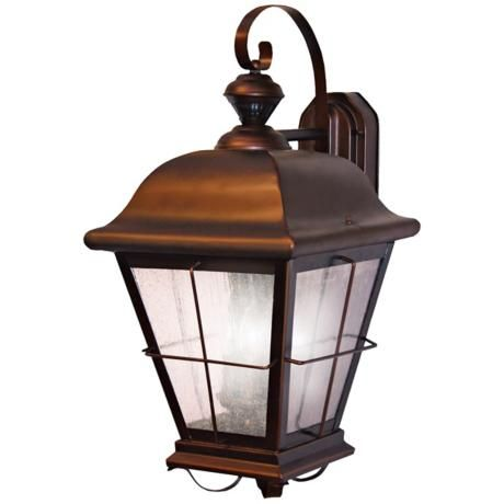 Chesapeake Style Antique Bronze ENERGY STAR® Outdoor Light $150: Motionactiv Outdoor, Stars Outdoor, Bronze Outdoor, 150 Degr, Style Antiques, Activities Outdoor, Chesapeake Style, Antiques Bronze, Outdoor Lights