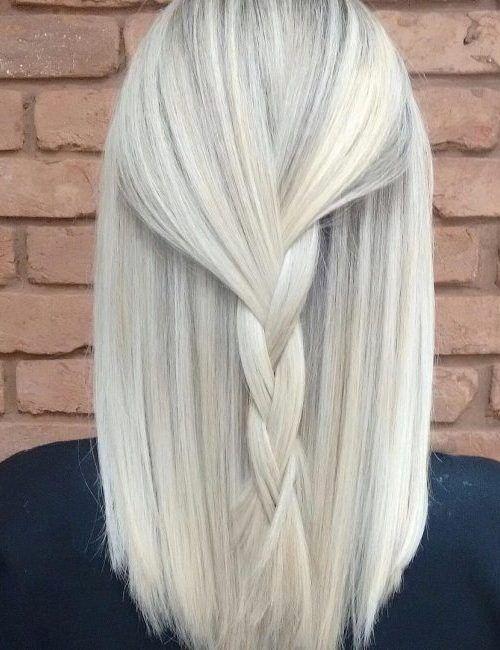 Delicioso Rubio Blanco de los Colores de Cabello para el año 2017 //  #2017 #año #blanco #cabello #Colores #Delicioso #para #Rubio