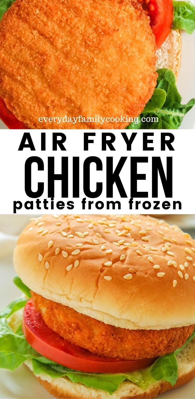 The Best Air Fryer Chicken Patty Sandwiches in 2020